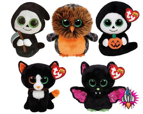 0694a0e5193 ty beanie boo babies plush soft toy halloween 2015 igor frights grimm treats