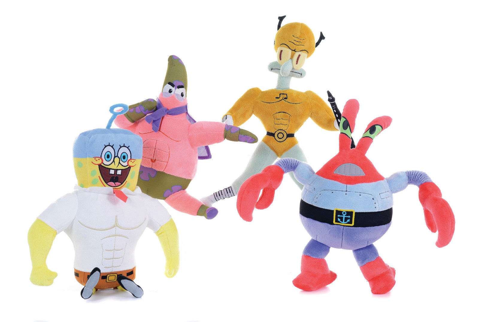 spongebob squarepants movie sponge out of water plush soft toys 12