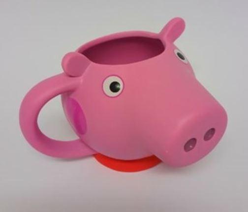 PEPPA PIG 3D HEAD COFFEE MUG CUP NEW IN GIFT BOX | eBay