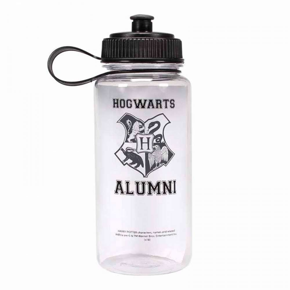 OFFICIAL HARRY POTTER H IS FOR HOGWARTS LARGE PLASTIC WATER DRINKS SPORTS BOTTLE