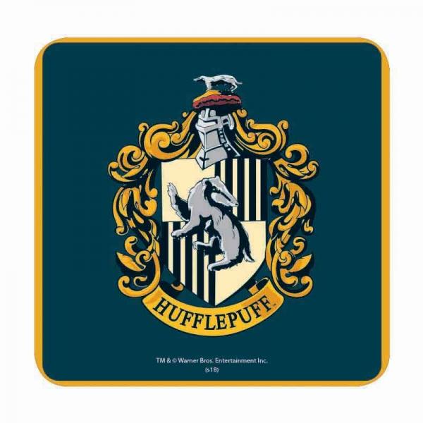 Harry Potter Hufflepuff House Crest Table Drinks Coaster Mat Ebay