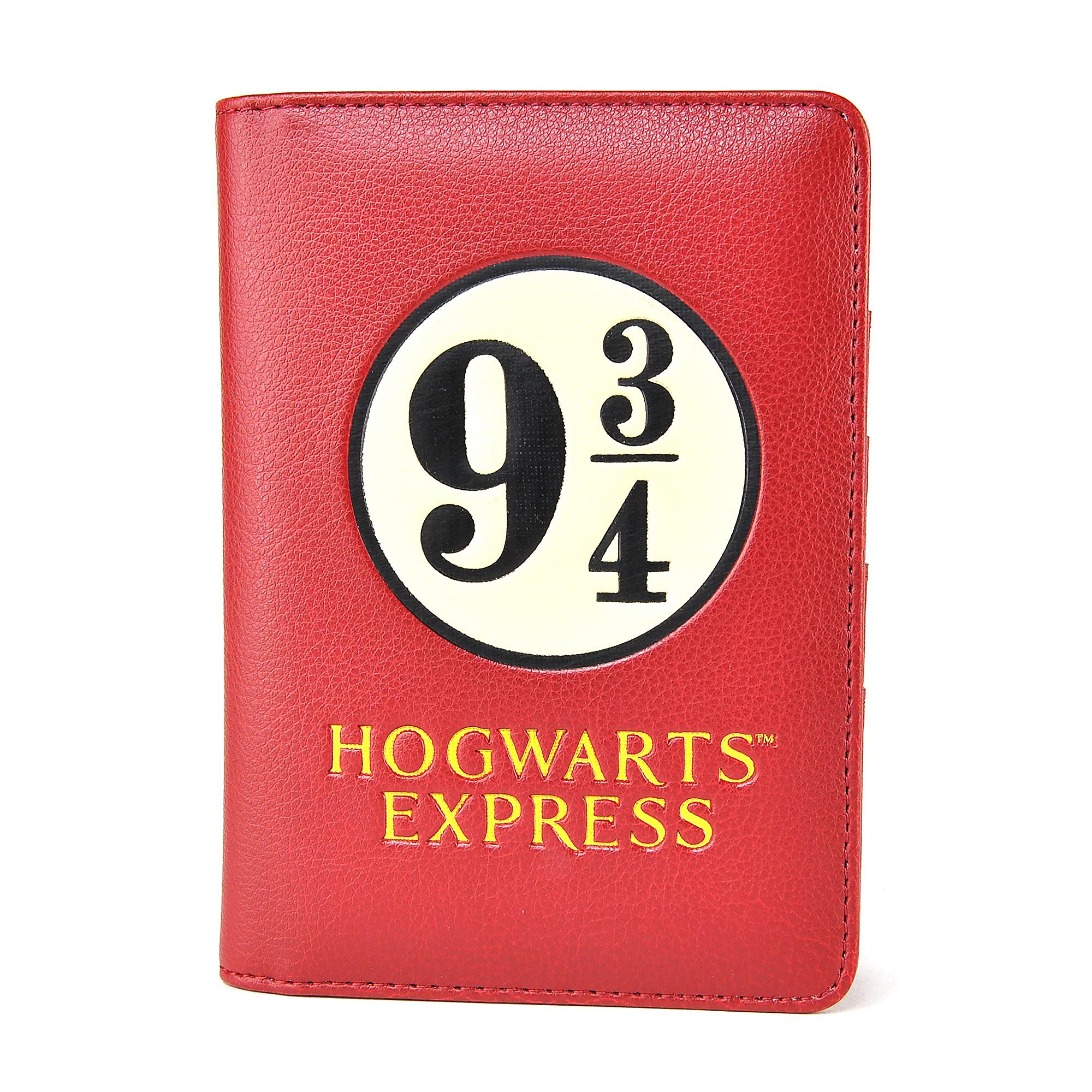 1b8eabbabb5 OFFICIAL HARRY POTTER HOGWARTS EXPRESS 9 3 4 PASSPORT HOLDER NEW ...