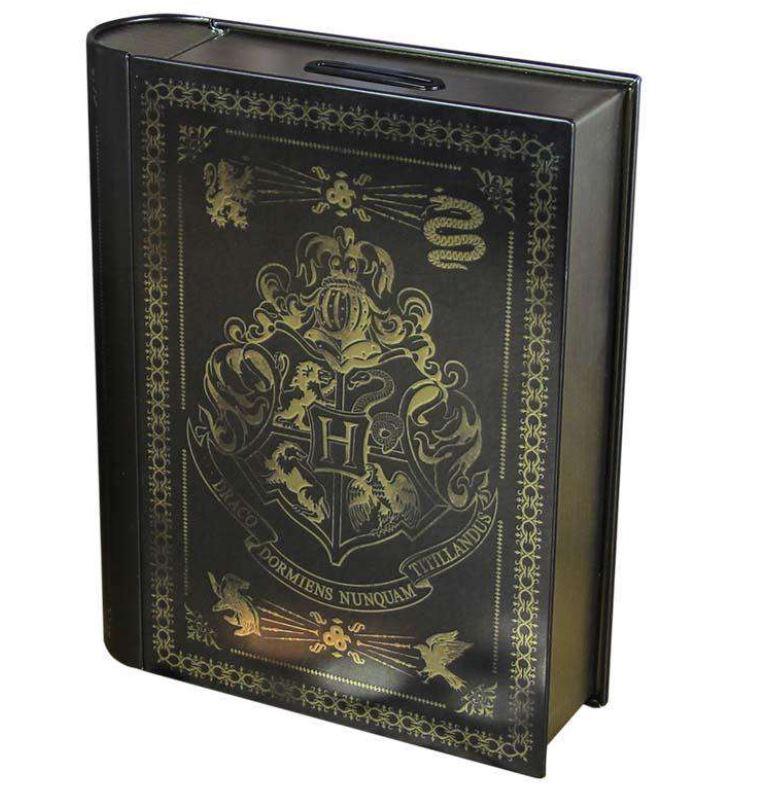 Harry Potter Muppets: OFFICIAL HARRY POTTER HOGWARTS SPELL BOOK MONEY CASH BOX