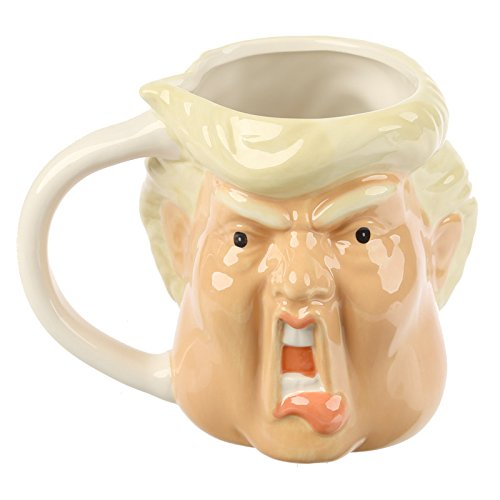 Donald Trump Presidents Novelty Mug 3d Shaped Style Coffee