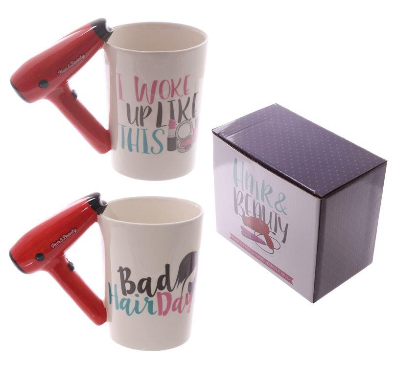 NOVELTY 3D POOL BALL HANDLE LUCKY BREAK COFFEE MUG TEA CUP NEW IN GIFT BOX