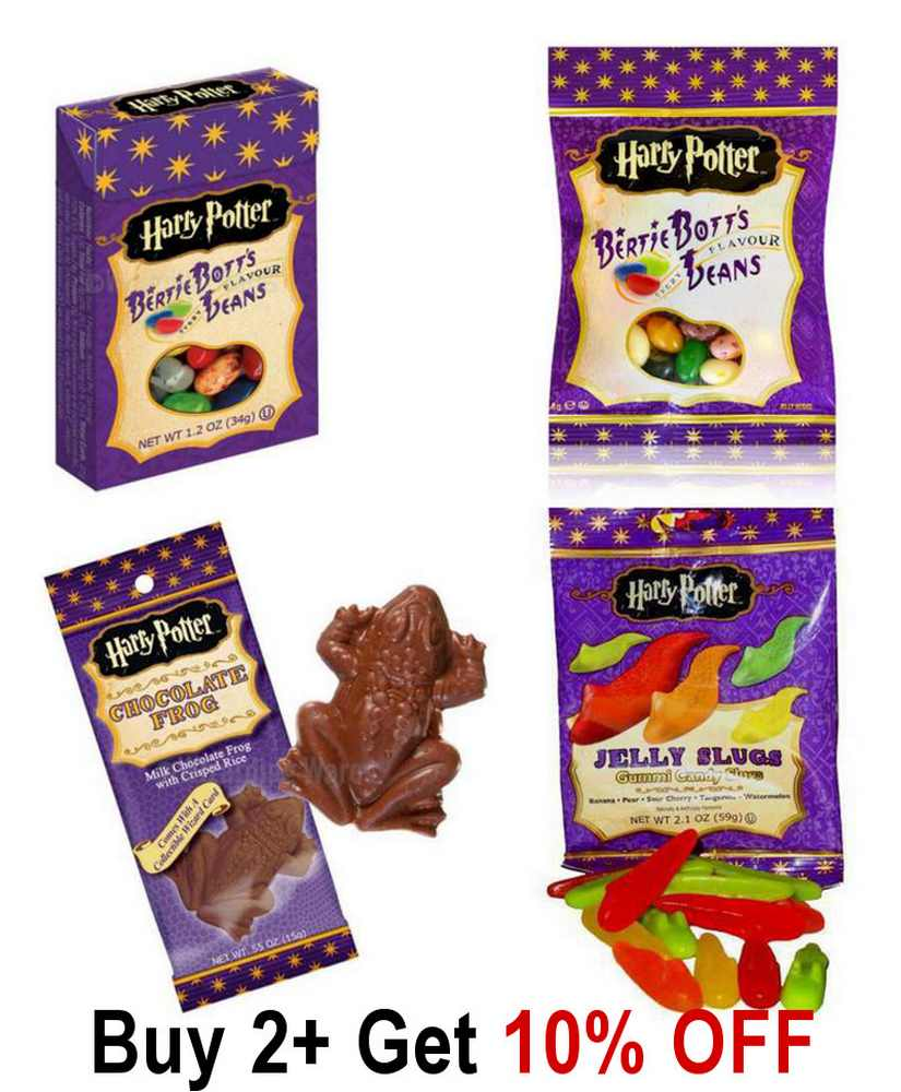 Official Harry Potter American Sweets Bertie Botts Chocolate Frog