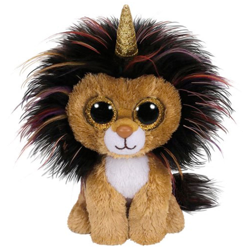 bc13265342e Details about TY BEANIE BABIES BOOS RAMSEY LION UNICORN PLUSH SOFT TOY NEW  WITH TAGS