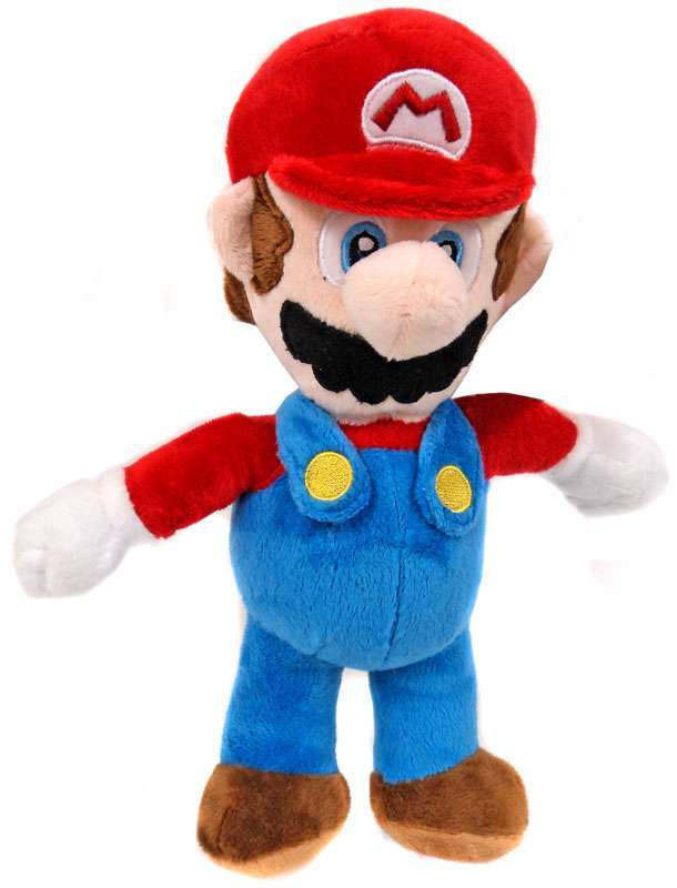"""OFFICIAL NINTENDO SUPER MARIO LARGE 12"""" MARIO PLUSH SOFT TOY TEDDY NEW WITH TAGS 5038104051746 ..."""
