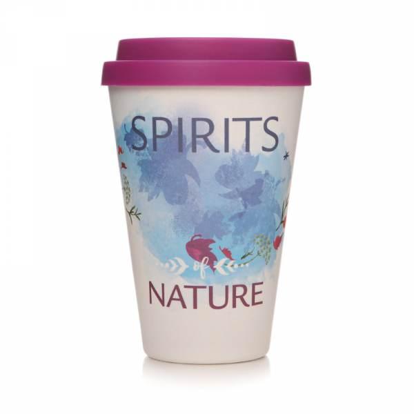 Reusable Travel Cup Mug Bamboo Cheese Plant Eco-friendly Coffee Green