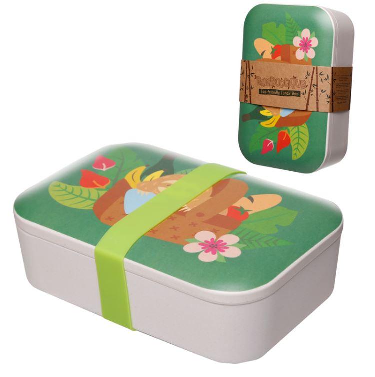 Bamboo Lunch Box llamapalooza Llama Eco Friendly