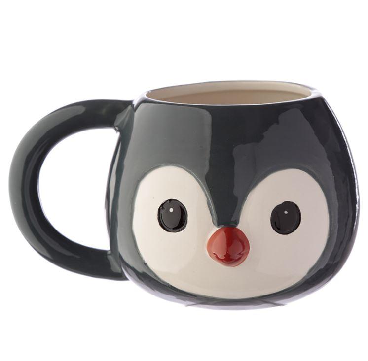 New Grey Owl Shaped 3D Mug