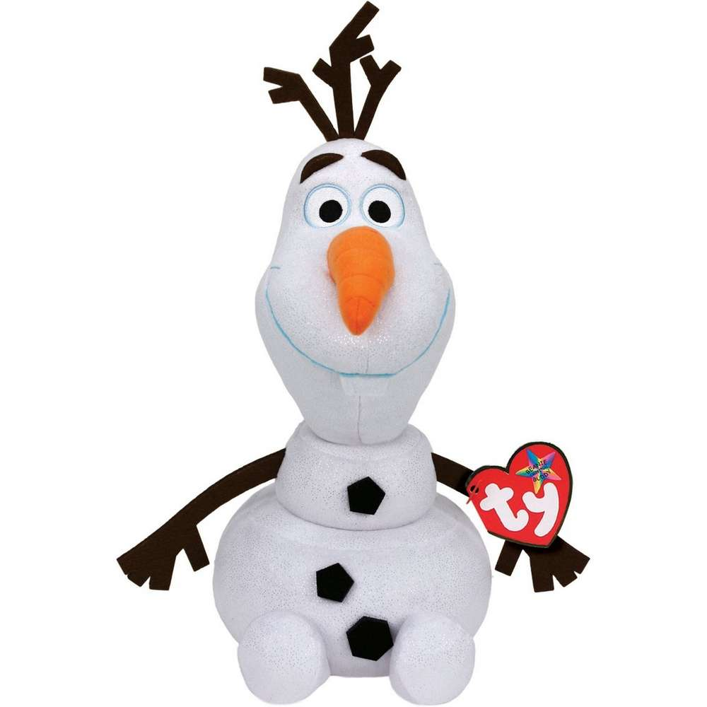 TY BEANIE BUDDY BUDDIES DISNEY FROZEN 2 OLAF SNOWMAN 30CM PLUSH SOFT TOY BNWT