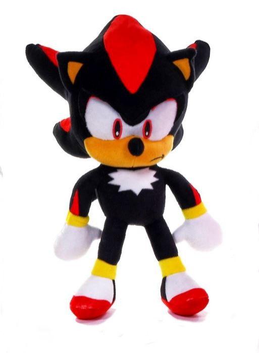 official sonic  hedgehog shadow  large plush soft toy teddy   tags ebay