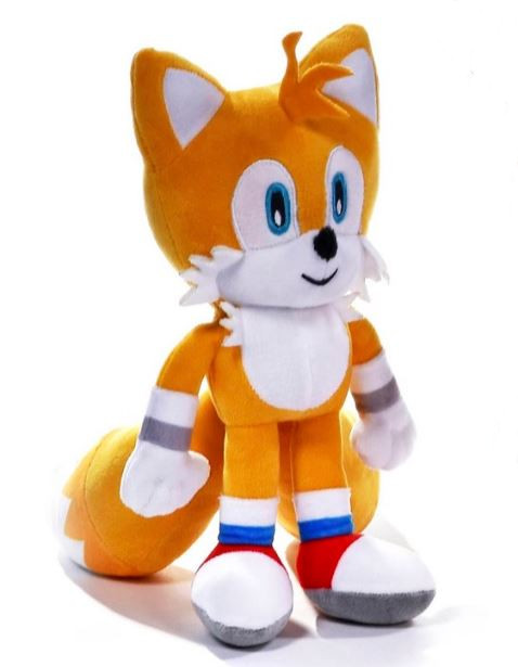 Official Sonic The Hedgehog Tails 12 Large Plush Soft Toy Teddy New With Tags Ebay